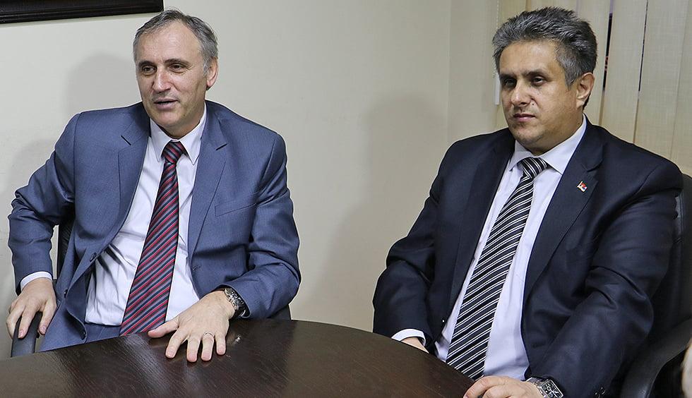 Foto: Svrljiške novine / arhivska fotografija / Martinović (levo)