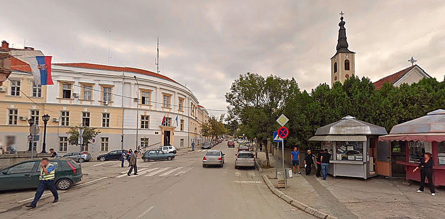 Arhivska fotografija, google map
