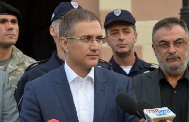 Stefanović i Stanković, foto: MUP Srbije