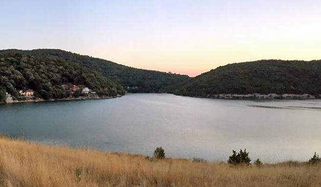 Pogled na Bovansko jezero, foto: M. Stevanović, Aleksinačke novine