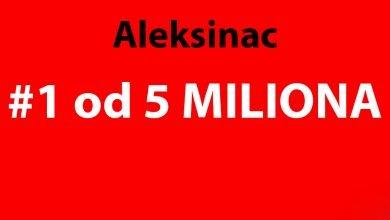 Ilustracija, 1 od 5 miliona Aleksinac