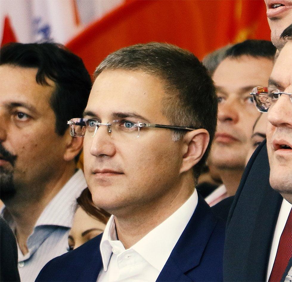 Ministar Stefanović, foto: M. Miladinović, Aleksinačke novine