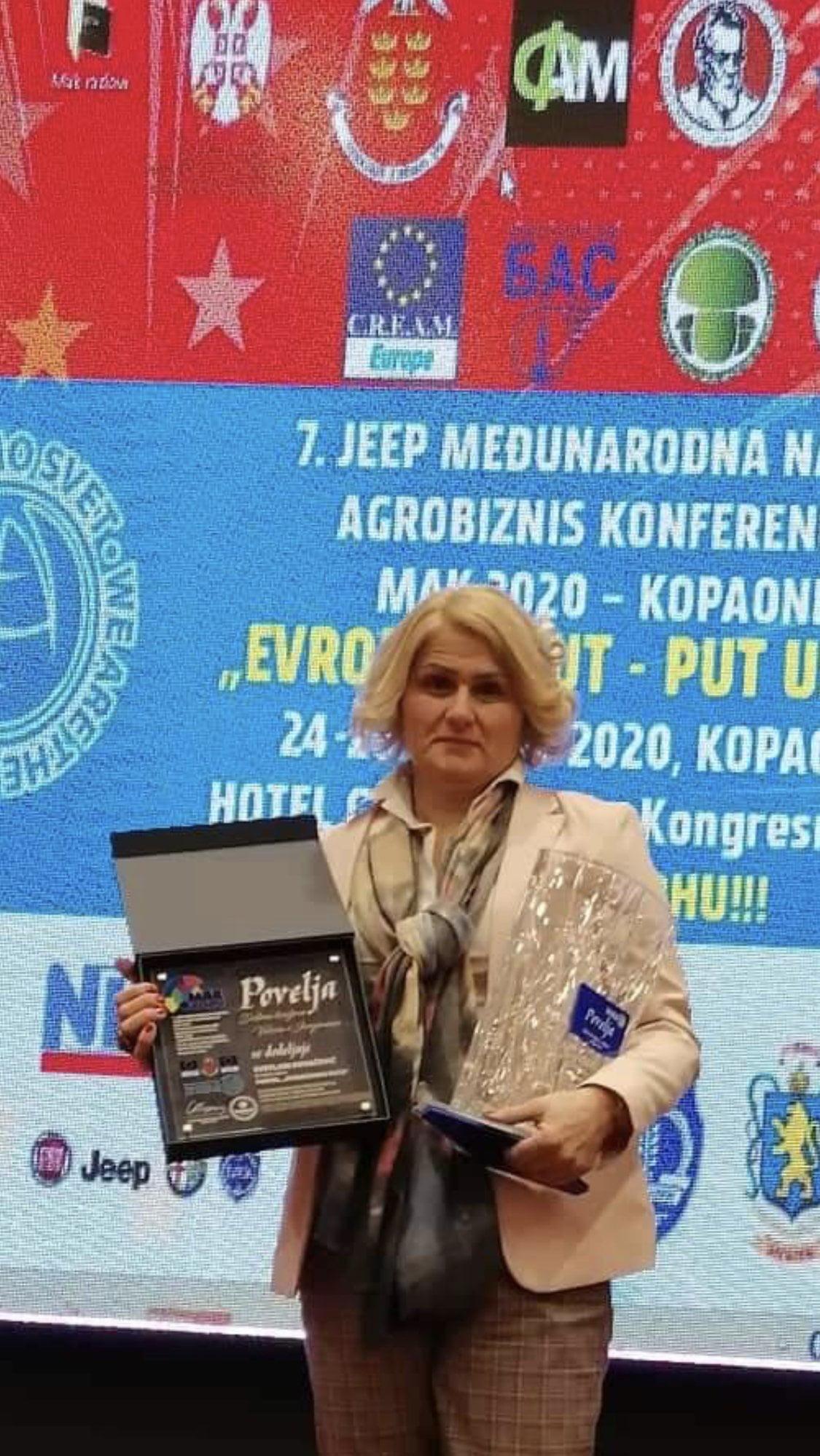 Urednica portala Svetlana Kovačević, foto: Domaćinska kuća