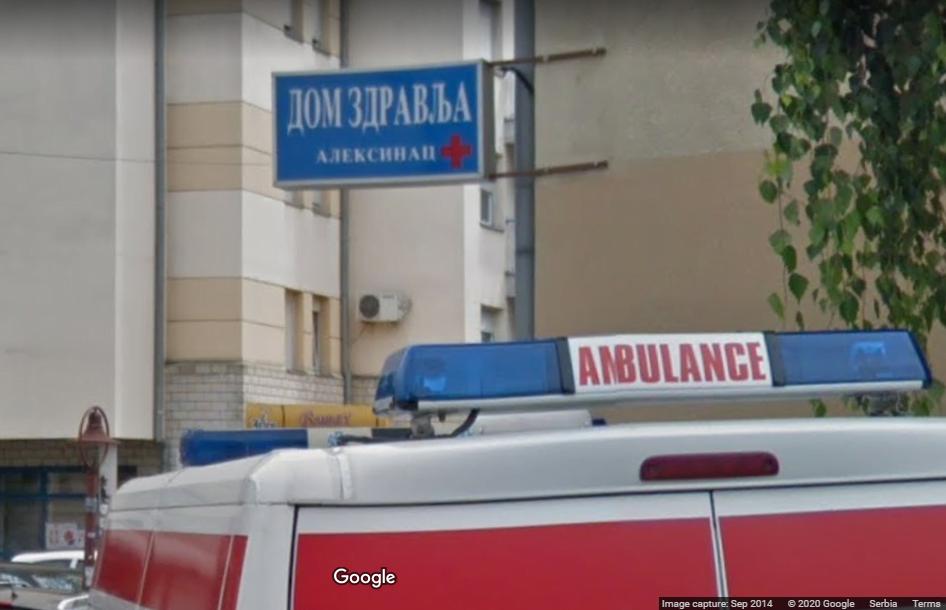 Dom zdravlja Aleksinac, foto: Google