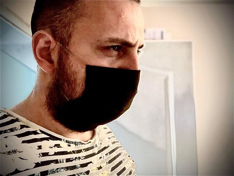 Zaštitna maska, foto: Aleksinačke novine