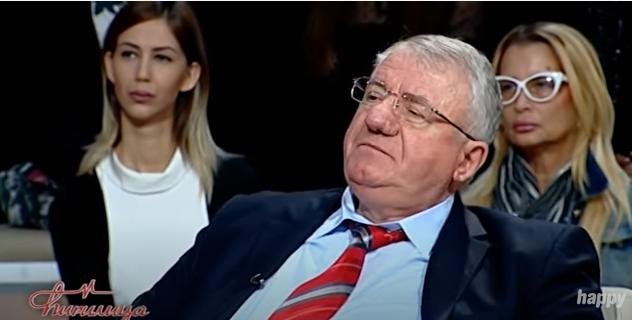 Vojislav Šešelj, foto: Happy TV, emisija ,,Ćirilica'', preuzeto sa Youtube kanala ,,Ćirilica''