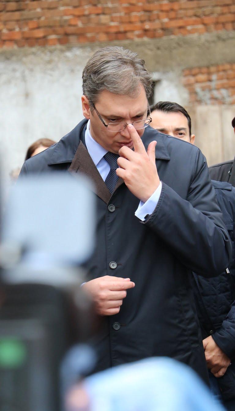Predsednik Srbije, Aleksandar Vučić, foto: Aleksinačke novine