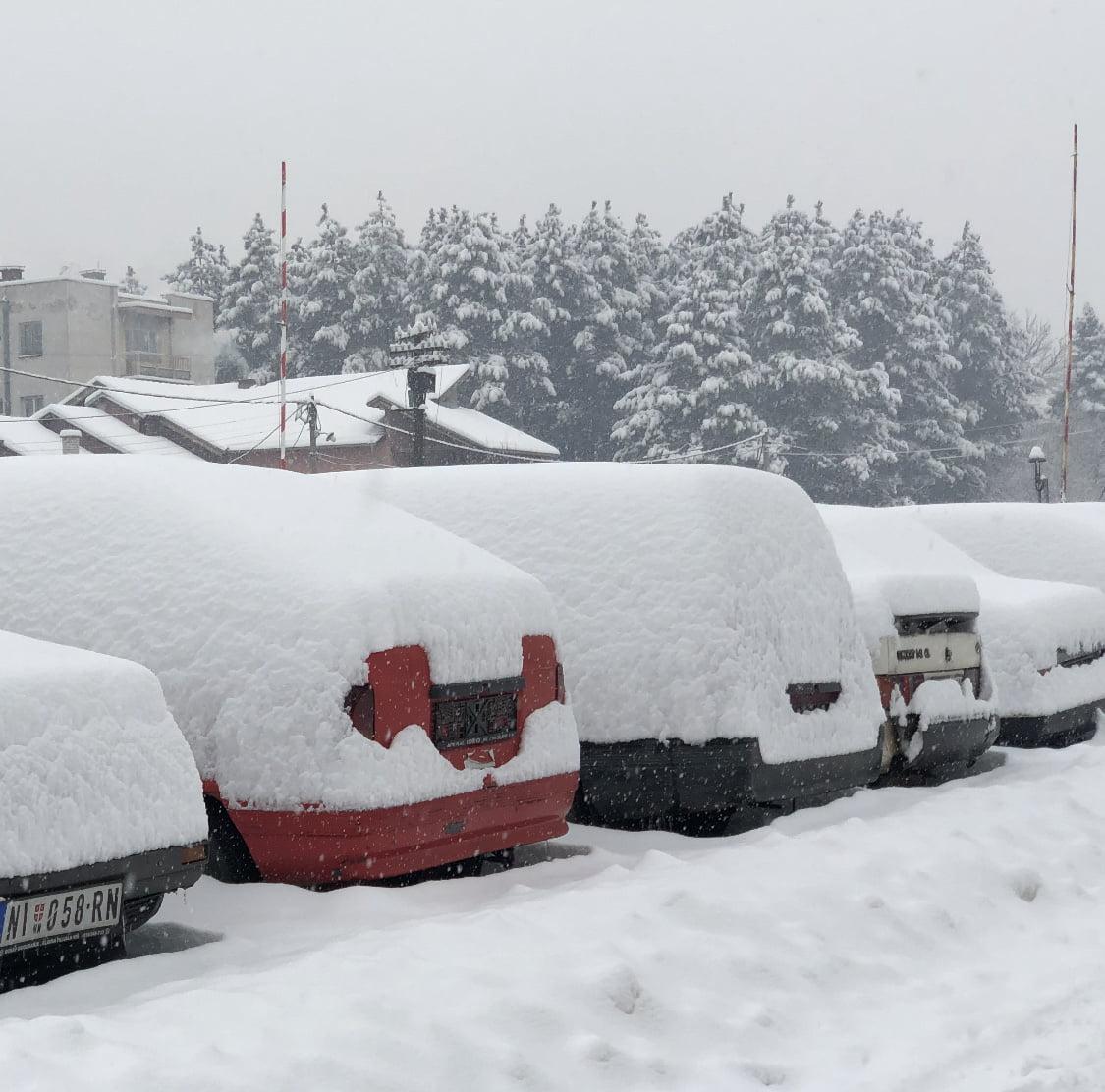 Sneg, ilustracija, foto: Aleksinačke novine