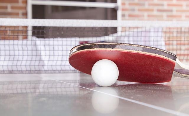 Stoni tenis, foto: Sascha Düser, pixabay.com