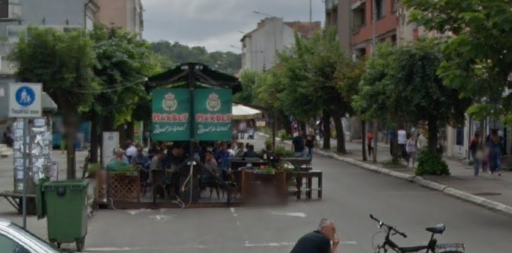 Aleksinac, šetalište, foto: Google map, arhiva